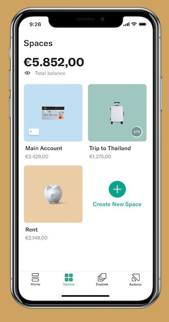 N26 App Screenshot - Budgets