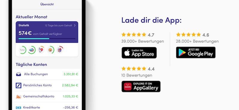 Finanzguru App Screenshot