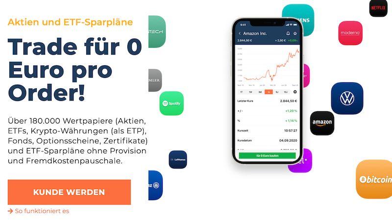 Bild: finanzen.net Zero Broker Screenshot